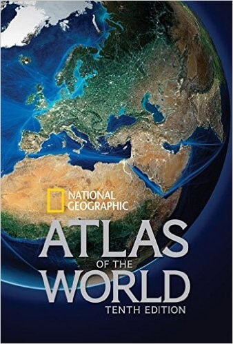 27 best world atlases for map lovers in 2017 brilliant maps national geographic atlas of the world gumiabroncs Choice Image