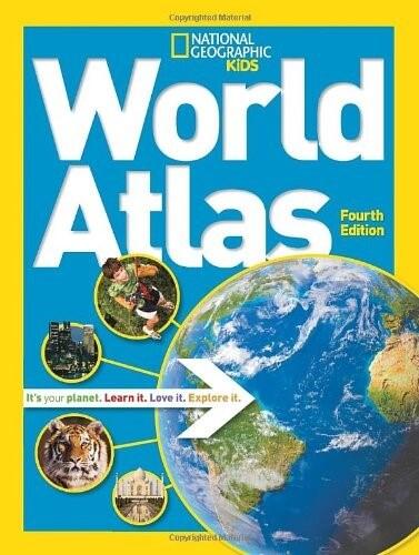 7 national geographic kids world atlas