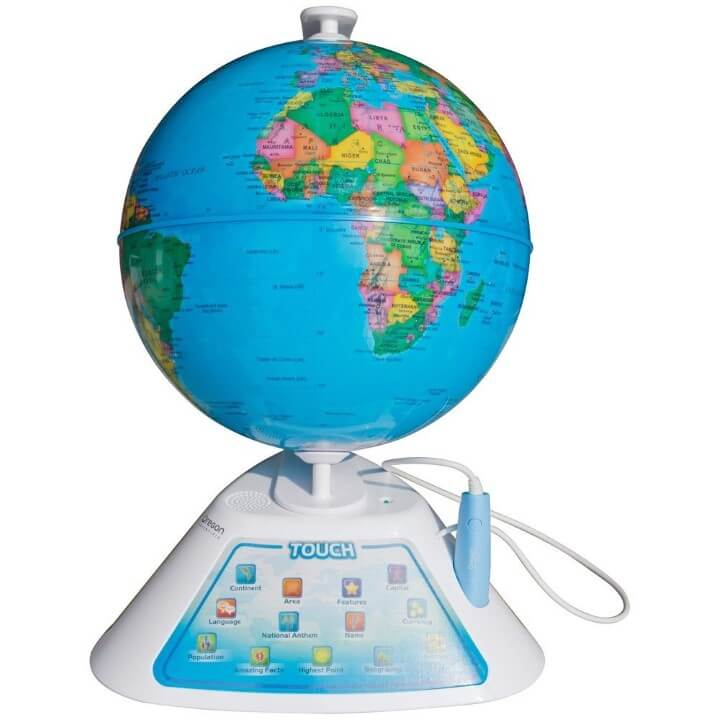 11 best world globes for kids children brilliant maps 2 oregon scientific smart discovery globe gumiabroncs Gallery