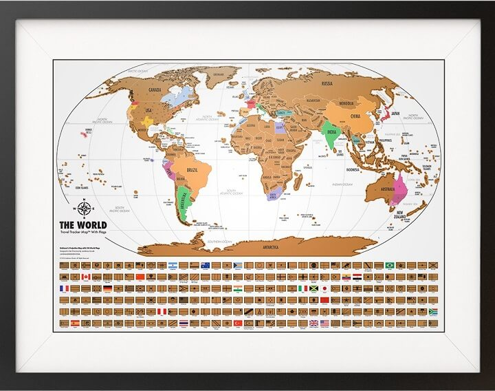 Scratch map giveaway win 1 of 3 scratch off world maps from world travel tracker map gumiabroncs Image collections