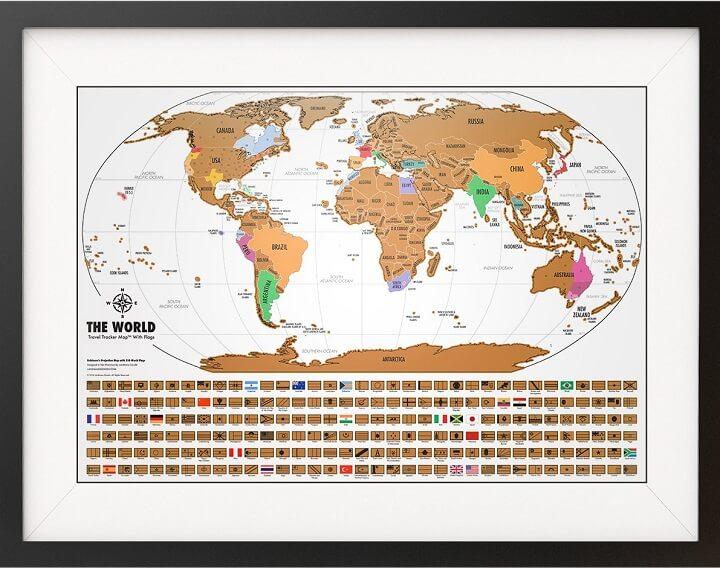 World Travel Tracker Map