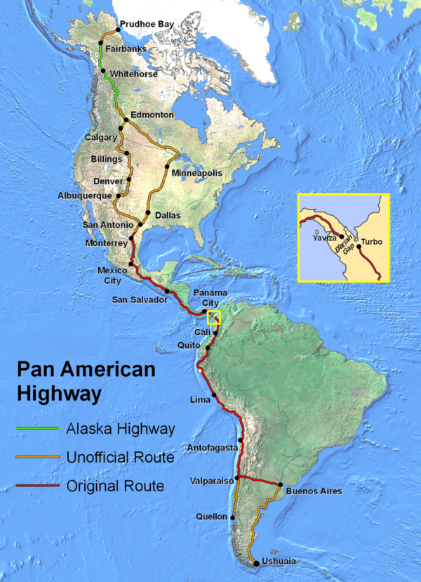 The Pan American Highway: The Longest Road In The World ...