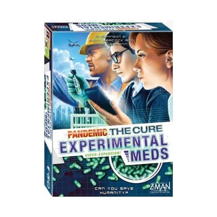 Pandemic The Cure – Experimental Meds Super-Expansion