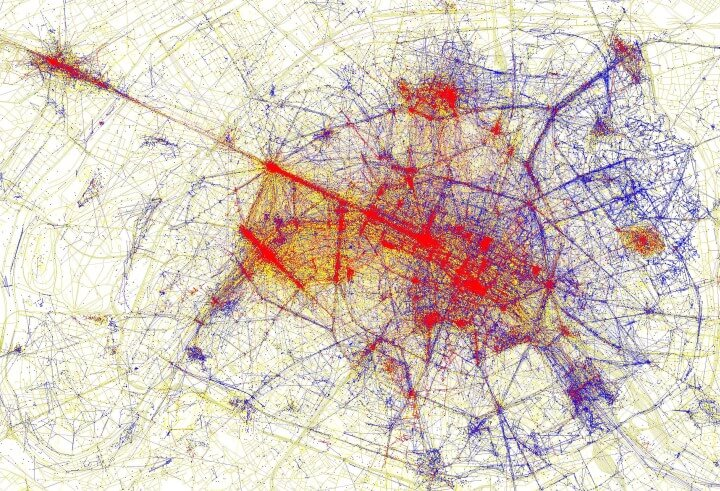 Paris tourists  vs locals