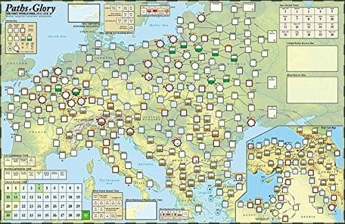 The 28 best map based strategy board games youve probably never paths of glory game map gumiabroncs Gallery