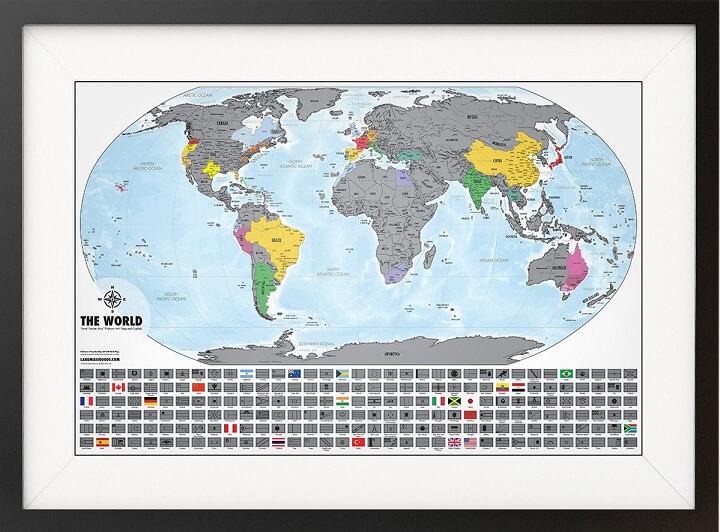 Travel Tracker Map™ Platinum