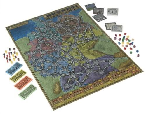 The 28 best map based strategy board games youve probably never power grid game map gumiabroncs Image collections