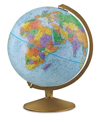 11 best world globes for kids children brilliant maps replogle explorer raised relief globe publicscrutiny Images