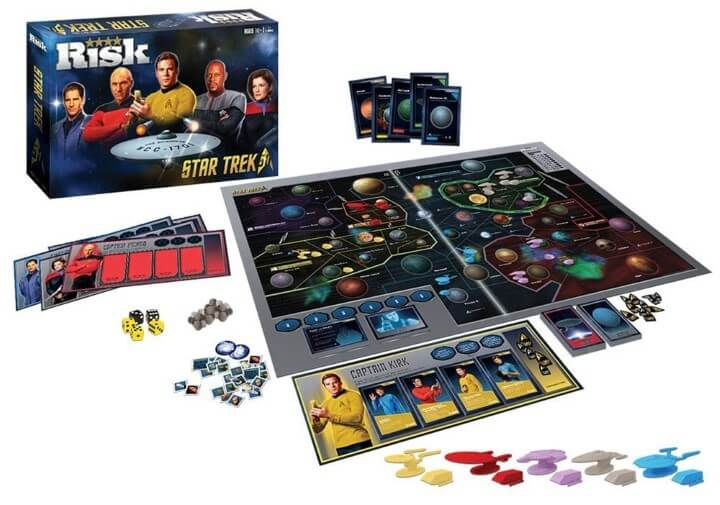 Risk Star Trek 50th Anniversary Edition