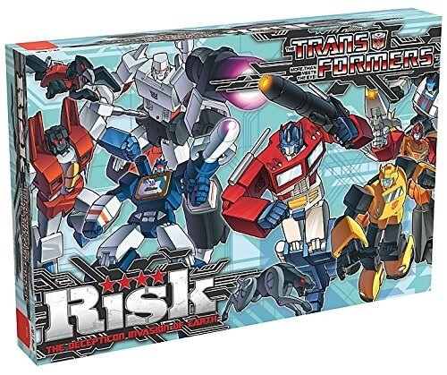 Risk Transformers The Decepticon Invasion of Earth