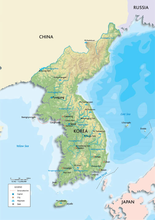 World map used in north korea brilliant maps south korea map gumiabroncs Choice Image