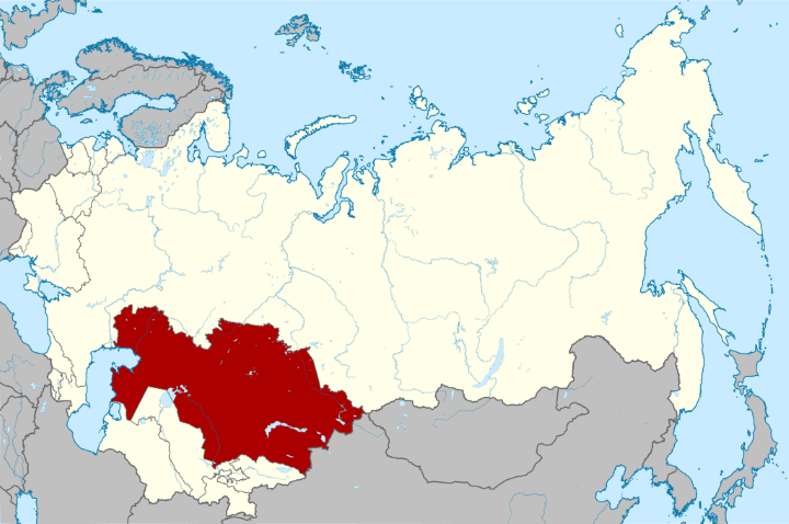 Kazakhstan Was The Last Soviet Republic To Leave The USSR (4 Days After Russia), Which Means That For 4 Days, This Was The Map Of The Soviet Union