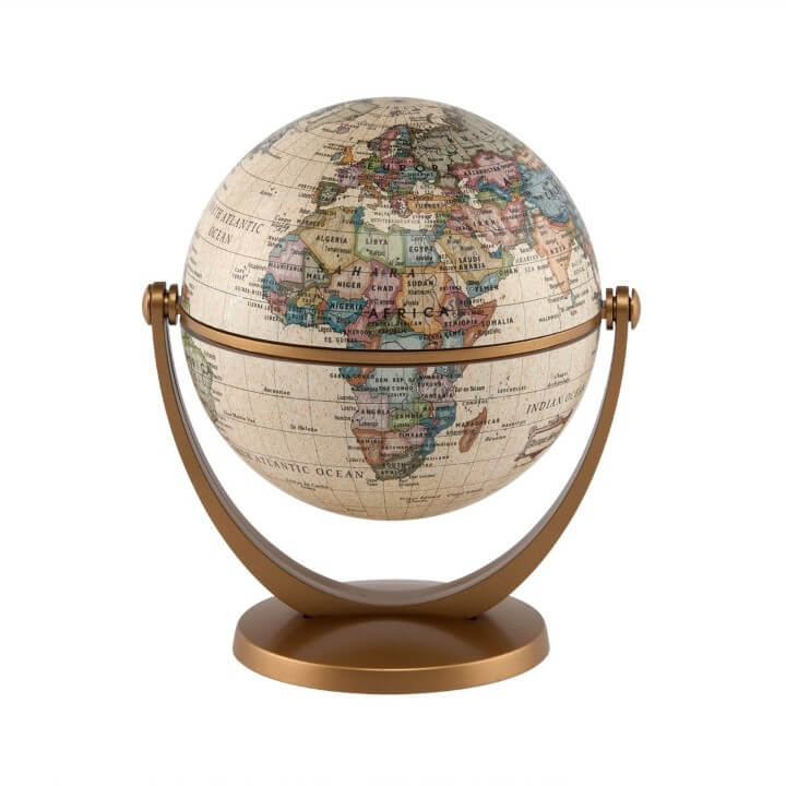 Stella Nova Political Antique Globe