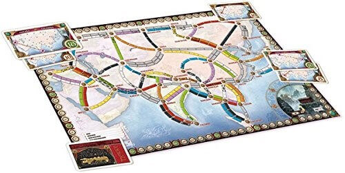 Ticket To Ride Asia: Map Collection Volume 1