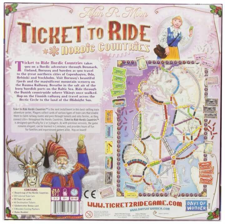 Ticket To Ride Asia Map.14 Best Ticket To Ride Board Game Versions Expansions Brilliant Maps