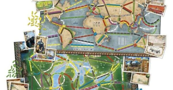 14 Best Ticket To Ride Board Game Versions & Expansions