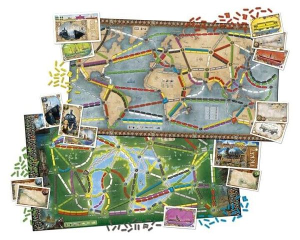 14 Best Ticket To Ride Board Game Versions Expansions