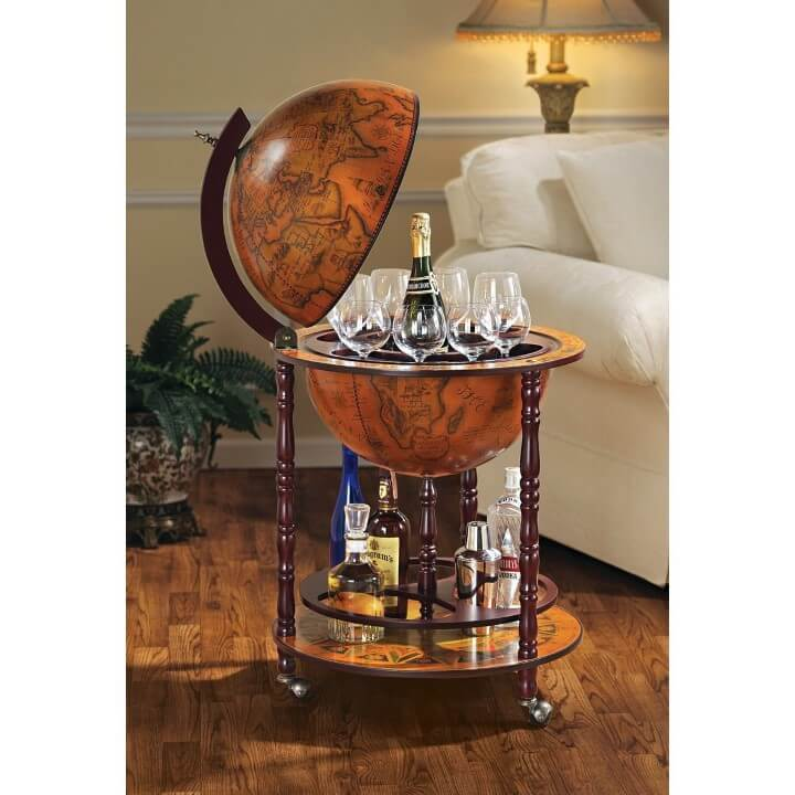 7 Cool Globe Drinks Cabinets & Bars Your Can Buy Online ...