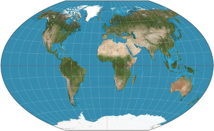Map projections what they say about you brilliant maps winkeltripleprojection gumiabroncs Image collections