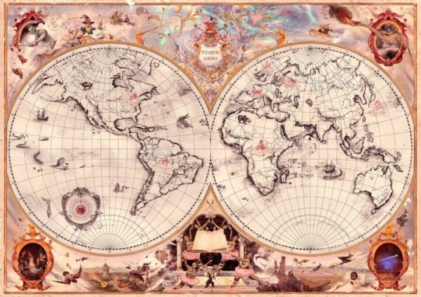 Wizarding School Locations From Harry Potter Brilliant Maps Durmstrang institute is a wizarding academy, similar to hogwarts school, believed to be located somewhere in western russia or northern europe. wizarding school locations from harry