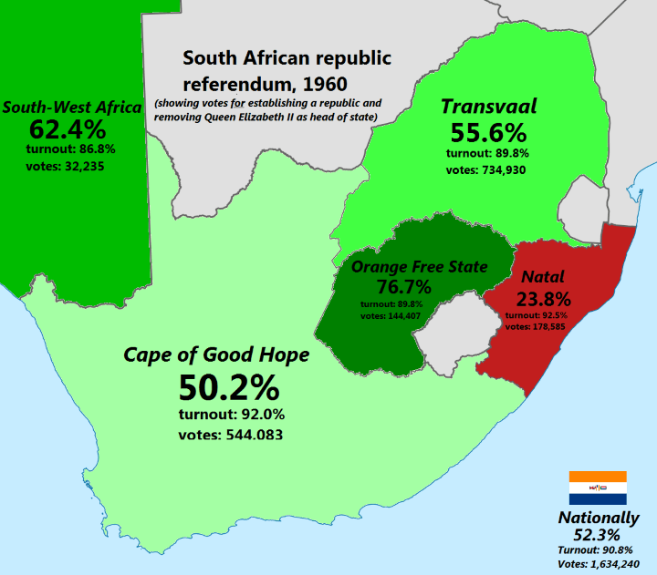 South African Republic Referendum 1960