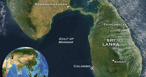 Adam's Bridge Between India and Sri Lanka Before 1480