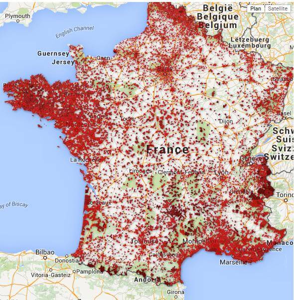 All The Bars In France Which Primarily Serve Alcohol