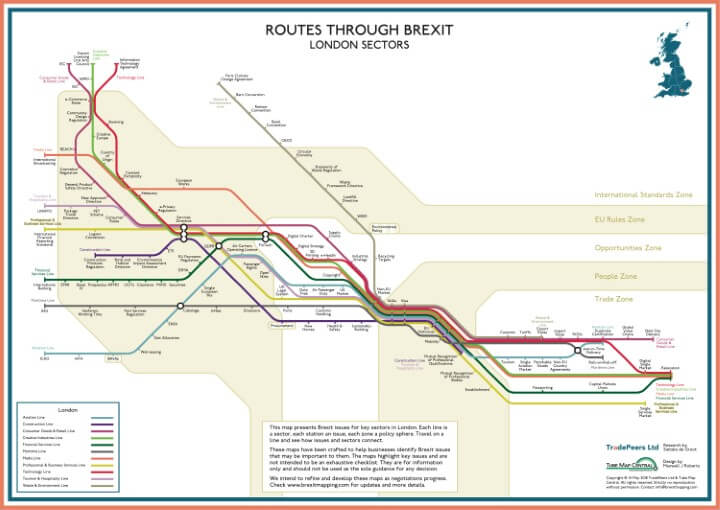 Brexit Issue Map: London