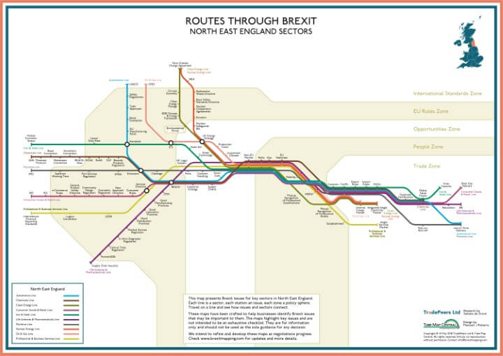 Brexit Issue Map: North East