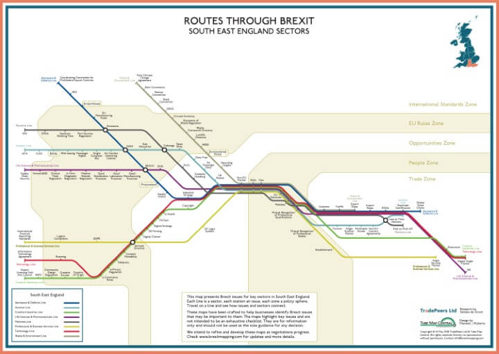 Brexit Issue Map: South East