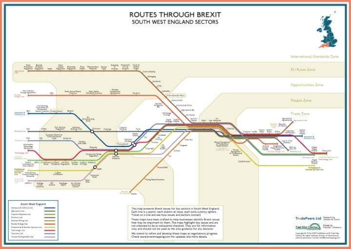 Brexit Issue Map: South West