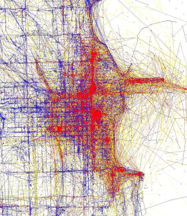 Tourists Vs Locals 20 Cities Based On Where People Take Photos – Tourist Map Of Chicago