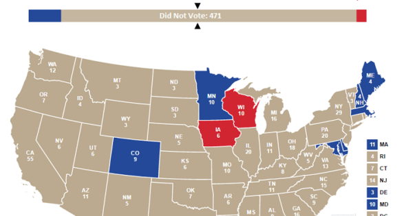 """If """"Did Not Vote"""" Had Been A Candidate In The 2016 US Presidential..."""