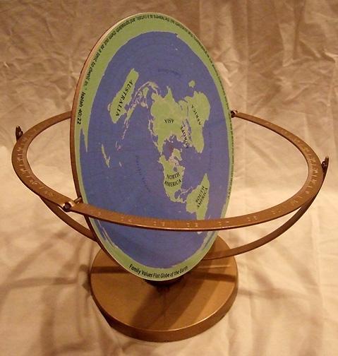 Flat Earth Globe Brilliant Maps