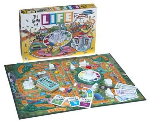 The Game of Life - Simpsons Edition