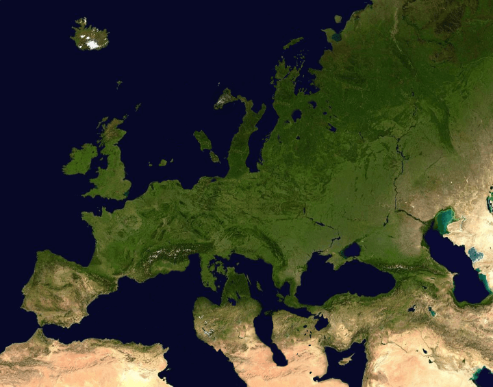 The Mediterranean Swapped With Scandinavia