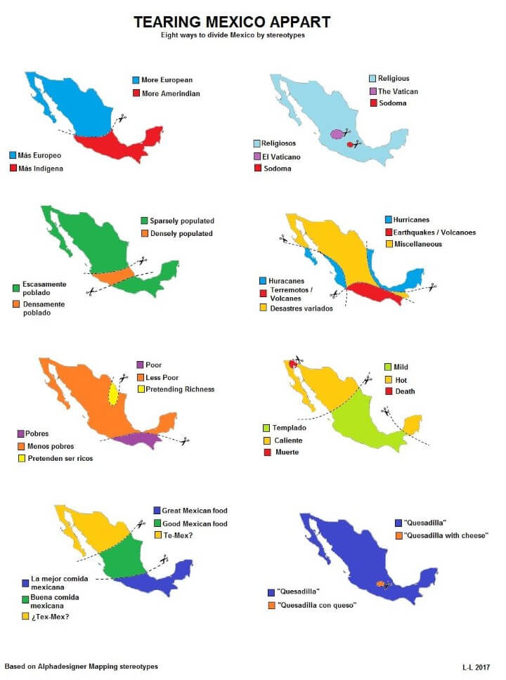 Mexico Divided By Stereotypes