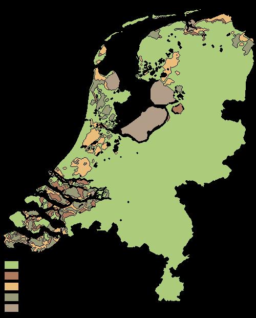 Netherlands Land Reclamation Timeline