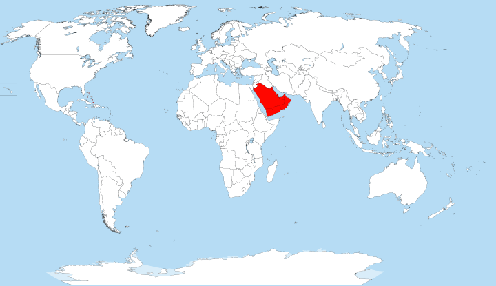 Countries With No Rivers