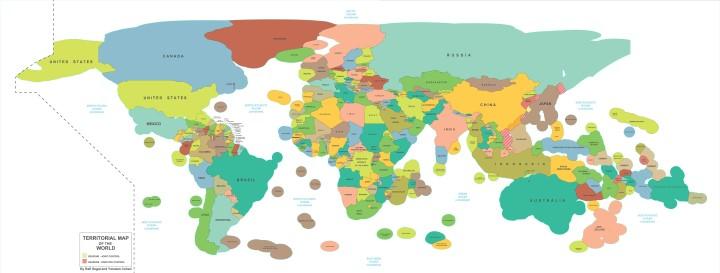 Territorial Waters & Exclusive Economic Zones (EEZ) Of The World